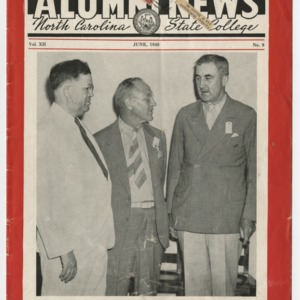 Alumni News, Vol. 12 No. 9, June 1940