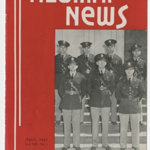 Alumni News, Vol. 13 No. 7, April 1941