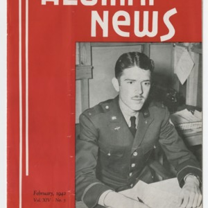 Alumni News, Vol. 14 No. 5, February 1942