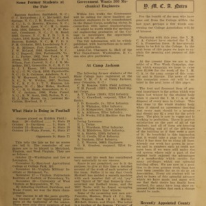 Alumni News, Vol. 1 No. 1, November 1, 1917