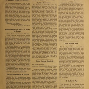 Alumni News, Vol. 1 No. 5, March 1, 1918