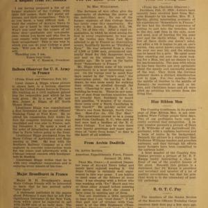 Alumni News, Vol. 1 No. 5, March 1, 1918