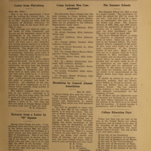Alumni News, Vol. 1 No. 9, July 1, 1918
