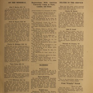 Alumni News, Vol. 2 No. 6, April 1, 1919
