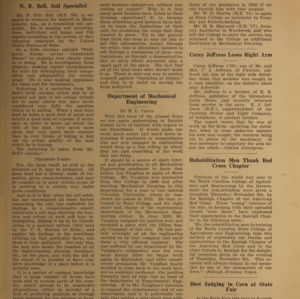 Alumni News, Vol. 3 No. 2, December 1, 1919