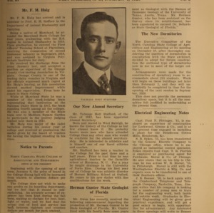 Alumni News, Vol. 3 No. 3, January 1, 1920