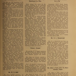 Alumni News, Vol. 3 No. 4, February 1, 1920