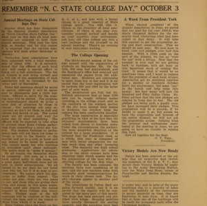 Alumni News, Vol. 3 No. 11, September 1, 1920