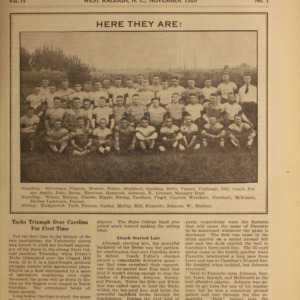 Alumni News, Vol. 4 No. 1, November 1920