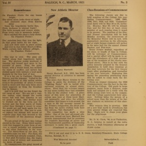 Alumni News, Vol. 4 No. 5, March 1921