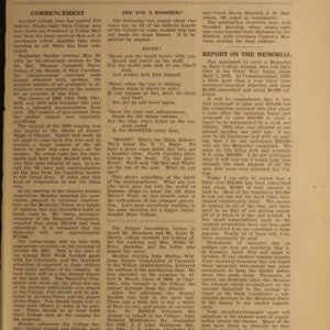 Alumni News, Vol. 4 No. 8, June 1921