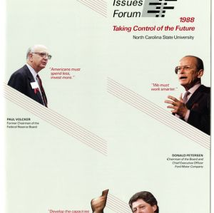 1988 Emerging Issues Forum Program