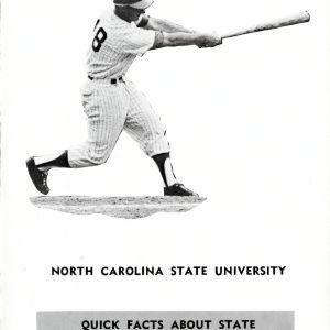 Roster, Men's baseball, North Carolina State, 1968 season