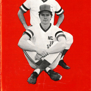 Media guide, Men's baseball, North Carolina State, 1973 season