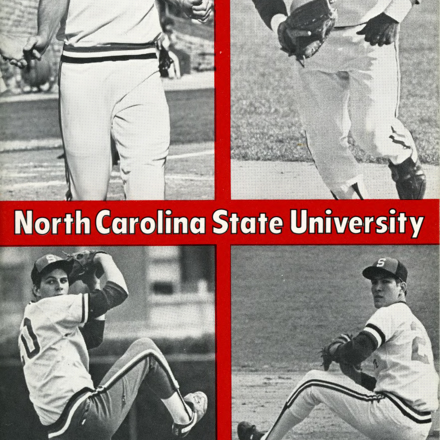 Media guide, Baseball, North Carolina State, 1982 season