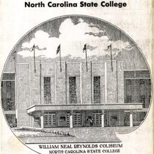 Program, Men's basketball, North Carolina State versus Duke, 14 February 1950