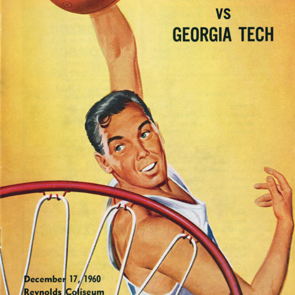 Program, Men's basketball, North Carolina State versus Georgia Tech