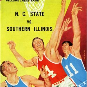 Program, Men's basketball, North Carolina State versus Southern Illinois, 1 December 1960