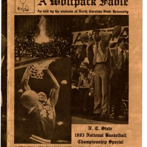 Media guide, Men's basketball, North Carolina State,