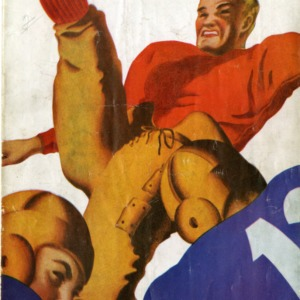 Program, Football, North Carolina State versus Duke, 23 November 1935