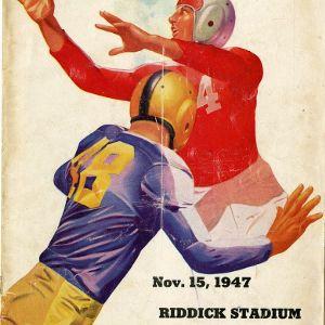 Program, Football, North Carolina State versus Wake Forest, 15 November 1947