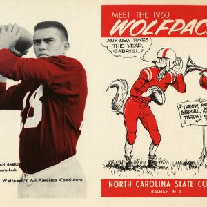 Schedules, Football and basketball, North Carolina State, 1960 season