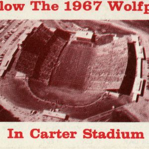 Card, Football, North Carolina State, 1967 season