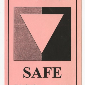 Project Safe -- NC State Ally flyer