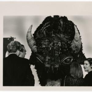 Buffalo piece at NCSU's Visual Arts Center