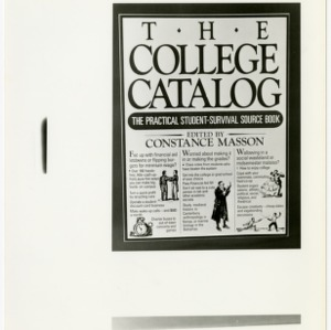 The college catalogue cover