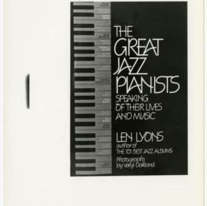 Cover of The Great Jazz Pianist collection of albums