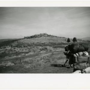 Hikers at Massie Gap