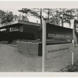 View of Burlington Labs Nuclear Engineering Building