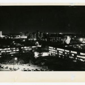 Bragaw Lot at night