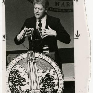 Bill Clinton speaking