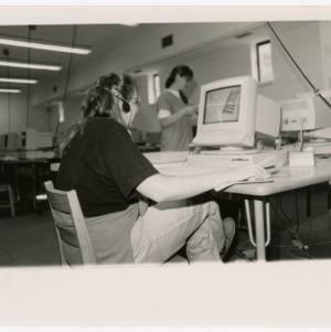 Computer lab at Brooks Hall