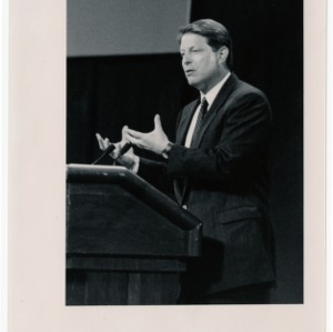 Al Gore, former Vice President and environmentalist