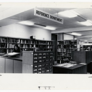 D. H. Hill reference department