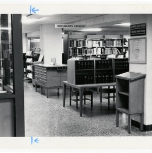 Government documents section at D.H. Hill Jr. Library
