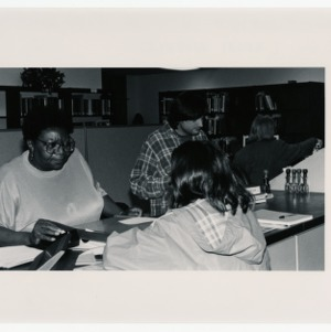 D.H. Hill Jr. library workers