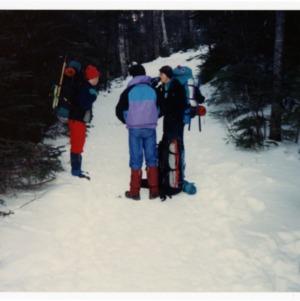 Hikers on Mt. Washington