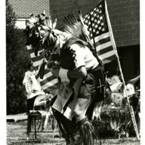 Dancer at Native American Festival