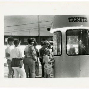 Ticket line at the State Fair