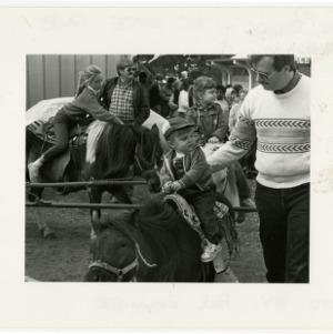 Pony rides at the State Fair