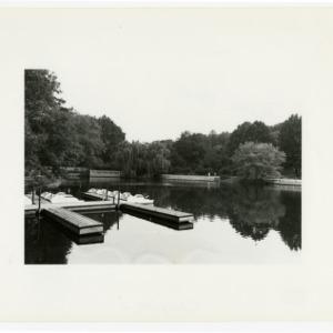 Pullen Park pond