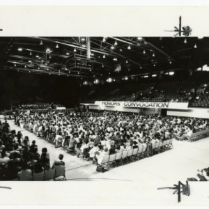 Attendance at the 1989 Honors Convocation