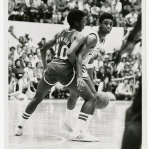 Morris Rivers guards Clemson's Skip Wise