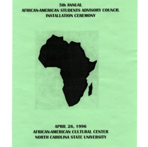 African American Student Advisory Council constitution