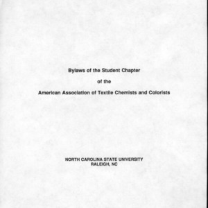 American Association of Textiles Chemists and Colorists constitution
