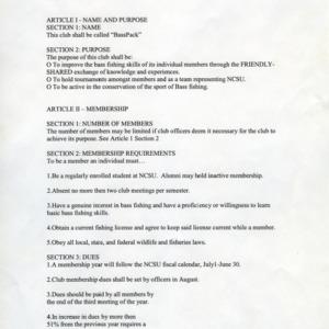 BassPack constitution